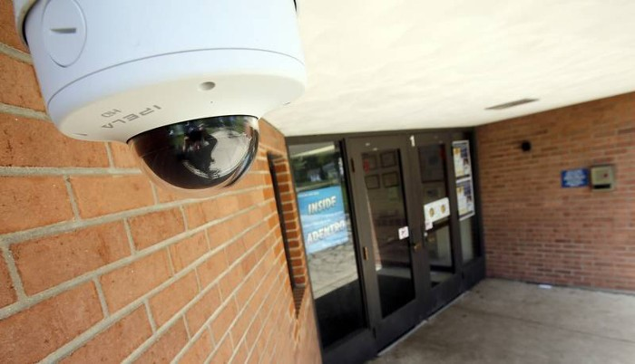 video surveillance cameras in schools