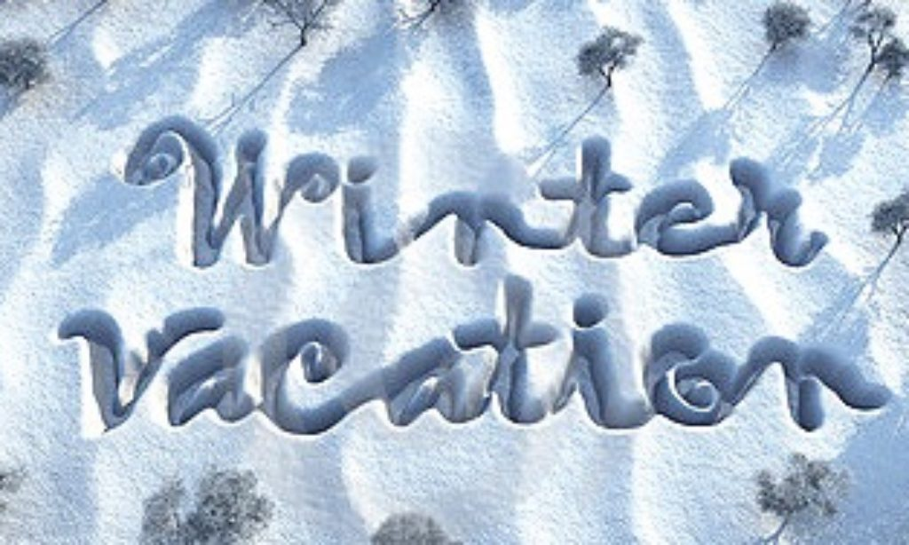 Winter Stay-cation Events Feb 25th- March 2nd